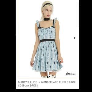 Disney's Alice in Wonderland ruffle back cosplay
